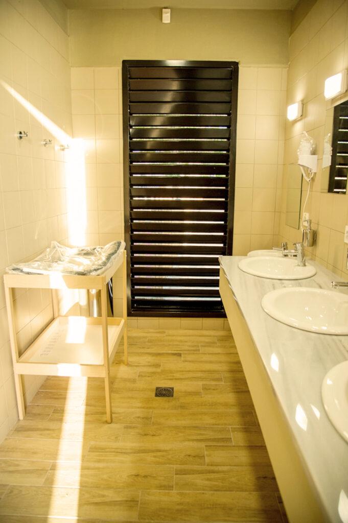 νιπτήρες σε τουαλέτα